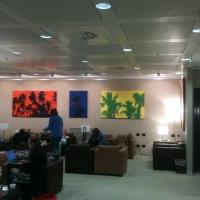 Fernando De Filippi espone all'aeroporto di Malpensa con Spazio Tadini